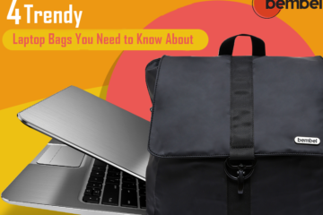 Trendy laptops bags