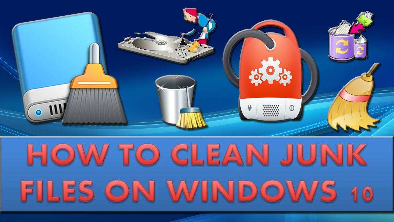 Clean Junk Files On Windows 10