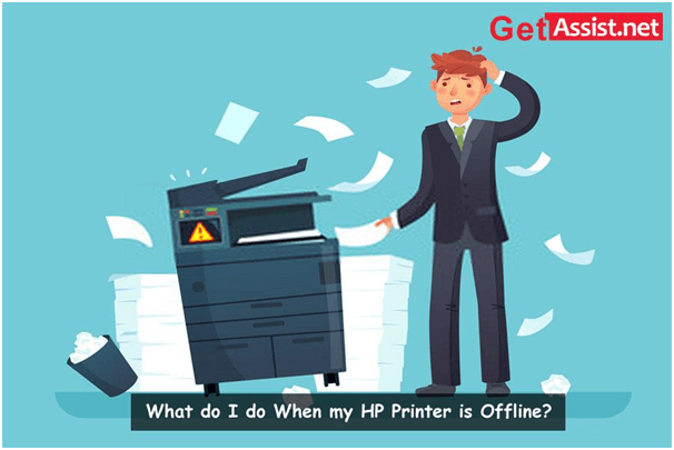 What Do I Do When My HP Printer Is Offline