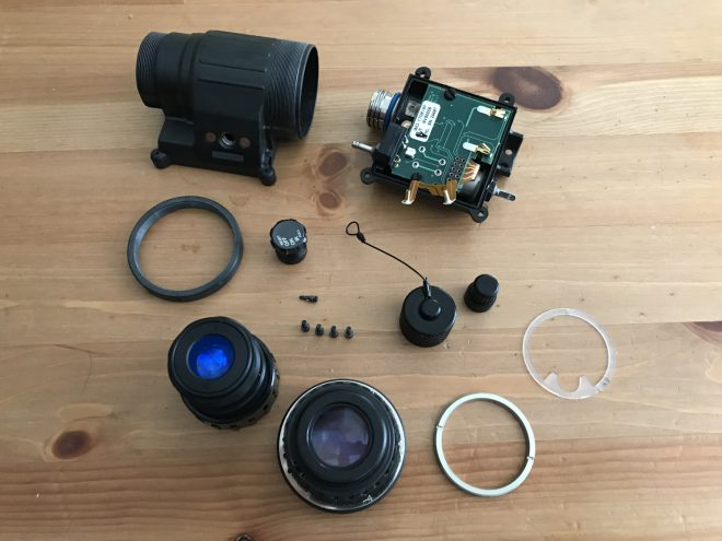 Clean your Night Vision Device