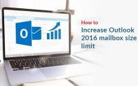 How to Increase the Outlook Mailbox size limit