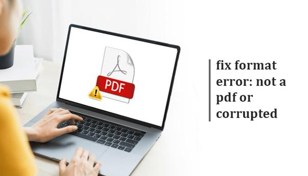Fix Format Erro PDF Currupted