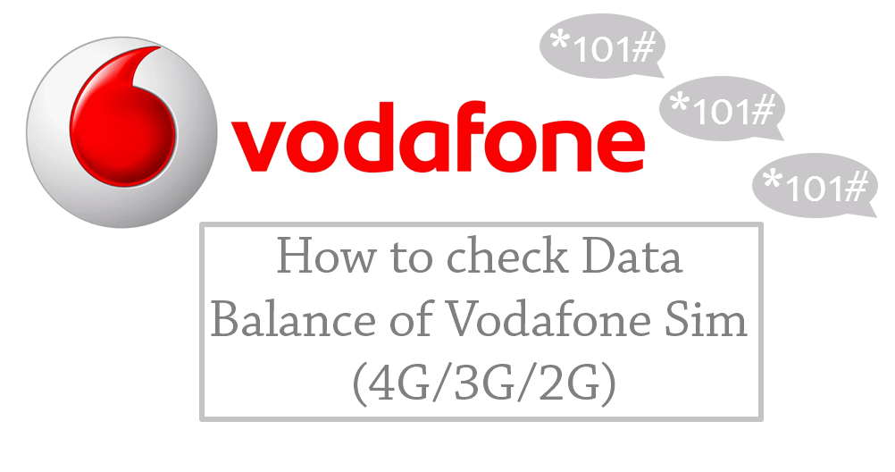 How To Perform A Vodafone Internet Balance Check On Your Number
