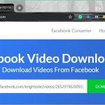 Download Facebook videos using Getfvid 1
